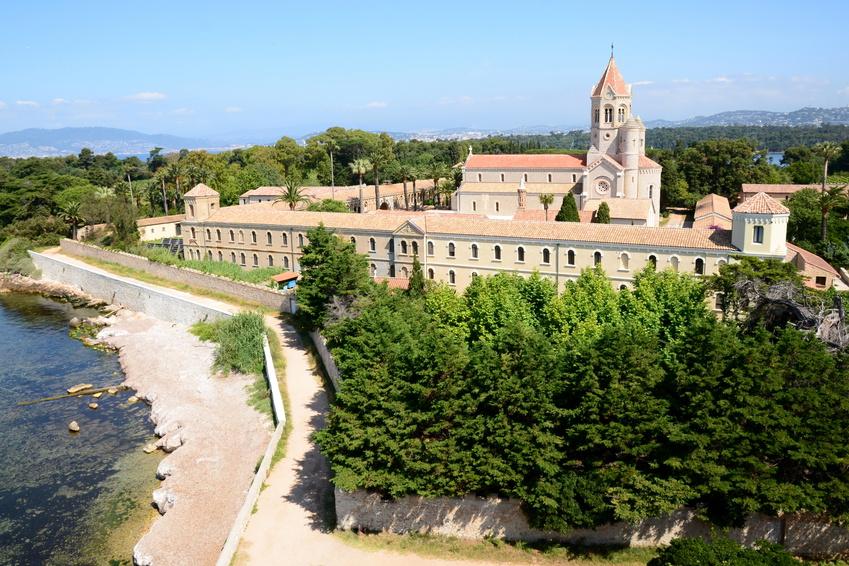 France, cte d'azur, Ile saint Honorat, monastre, abbaye.